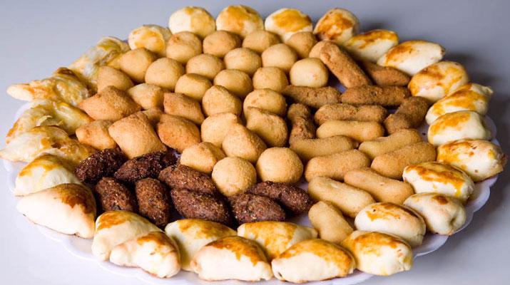 Enrolado Frito De Presunto E Queijo